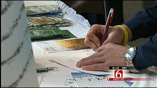 'Holiday Mail For Heroes' Sending Season's Greetings To Oklahoma Service Members