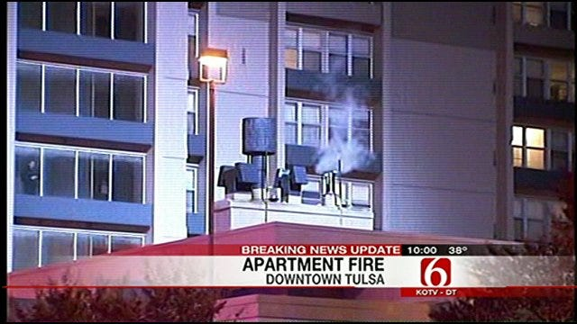 Tulsa Fire: Woman Injured In Tulsa Fire Jumped From Sixth Floor
