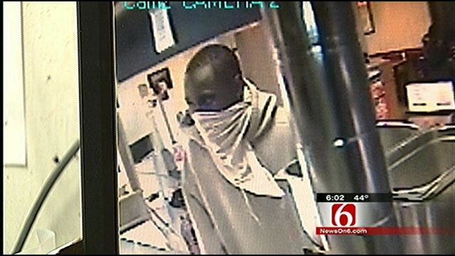 Tulsa Robber Tells Victims To 'Have A Nice Day'
