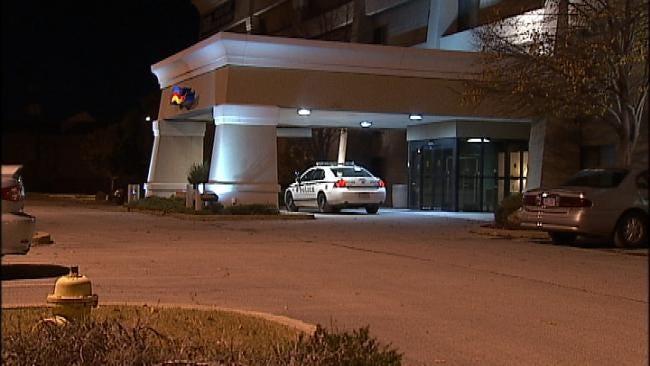 WEB EXTRA: Video From Scene Of Tulsa Motel Robbery