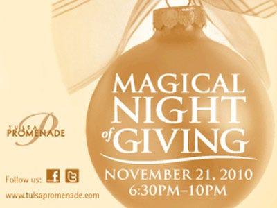 Tulsa Promenade: Magical Night of Giving