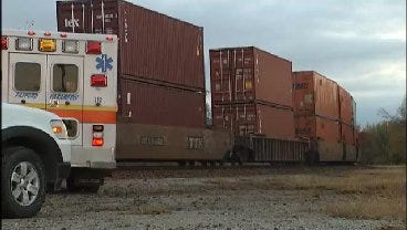WEB EXTRA: Man Killed By Train In Catoosa