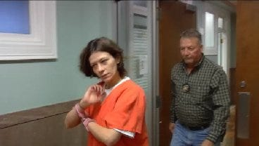 WEB EXTRA: Bartlesville Mother Charged In Baby's Death Appears In Court