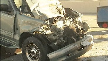 WEB EXTRA: Four Car Wreck On HWY 169