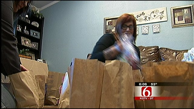 Tulsa Delivery Service Helping Feed The Needy