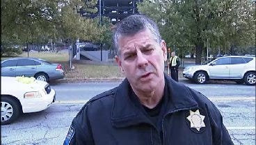 WEB EXTRA: Tulsa Police Talk About Auto-Pedestrian Accident