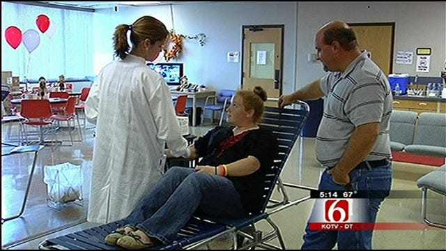 Tulsa Teen One Of The First Blood Donors Under New Law