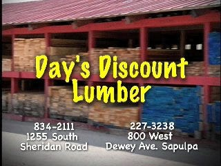 Day's Discount Lumber: Building Materials