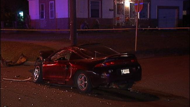 WEB EXTRA: Video From Scene Of Injury Traffic Crash On Pine