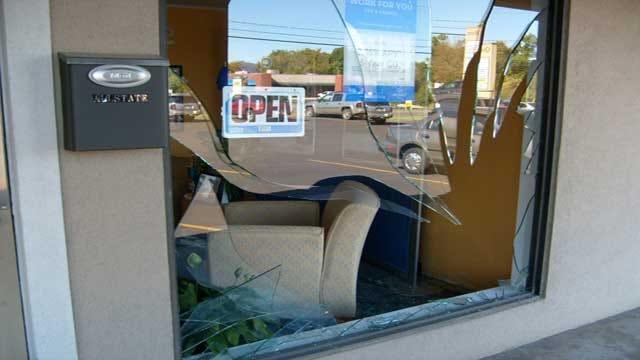 WEB EXTRA: Allstate Agent Describes Deer Crashing Into Office Window