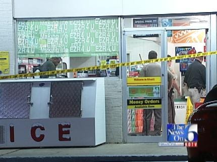 WEB EXTRA: Berryhill E-Z Mart Robbery Investigation