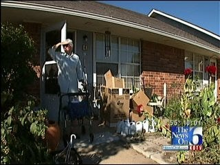 Residents At Subsidized Skiatook Apartment Complex Protest Eviction Notices