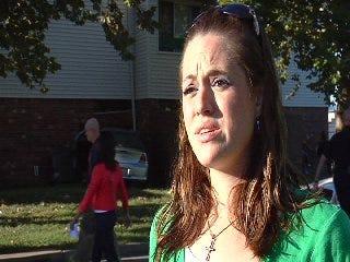 WEB EXTRA: Ashley Davis Talks About Apartment Crash