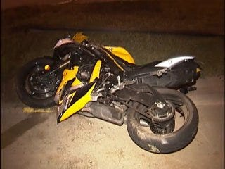 WEB EXTRA: Video From Scene Of I-244 Motorcycle Crash