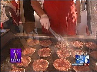 Krispy Kreme Burger Among Treats At Tulsa State Fair