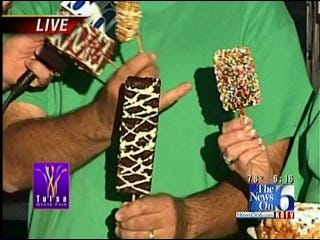 WEB EXTRA: News On 6 Chief Meteorologist Travis Meyer Previews Treats At Tulsa State Fair