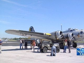 Fly With Dick Faurot In The Historic B-17 Liberty Belle