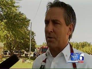 WEB EXTRA: Tulsa Fire Department Spokesperson Discusses Emergency Landing