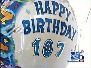 Tulsa Woman Celebrating 107th Birthday