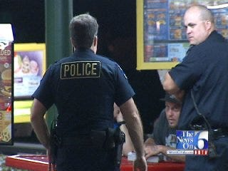 WEB EXTRA: Tulsa Police Discuss Armed Robbery At Sonic