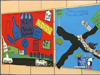 Sam Houston Elementary Students Win OHP Anti-Drunk Driving Poster Contest
