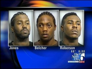 Three Men Arrested For 4 Robberies At 3 Tulsa Apartments Early Thursday