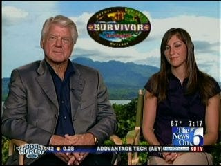 LeAnne Taylor Talks With Survivor Contestant Jimmy Johnson