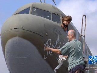 Historic Douglas C-47 Being Restored in Bristow