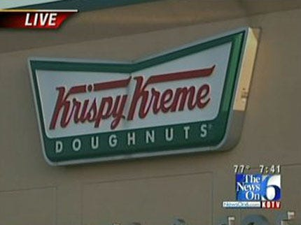 Cops On Doughnut Shops Raise Money For Special Olympics