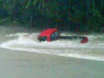 WEB EXTRA: Video Of Flooding In Sallisaw