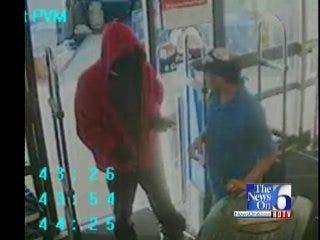WEB EXTRA: Surveillance Video Of Tulsa Walgreens Robbery