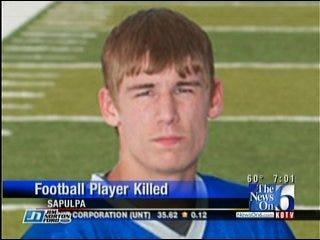 Sapulpa High School Football Player Killed in Crash