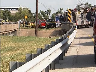 WEB EXTRA: Video From The Scene Of State Highway 11 Crash