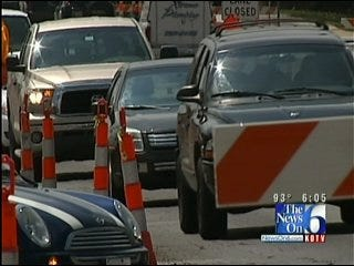 Some Question Progress Of Tulsa Road Construction Project At 31st And Yale
