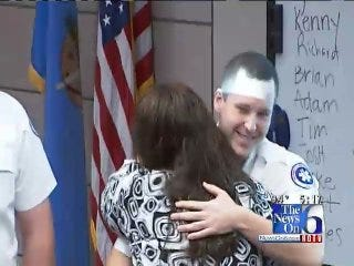 Cardiac Arrest Survivor Thanks EMSA Paramedics For Saving Her Life