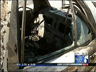 Vehicle Fire Second In One Year Near Tulsa Boys And Girls Club