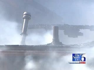WEB EXTRA: Tulsa Firefighters Battle North Lewis Fire