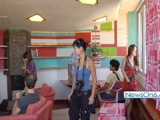 Price Tower Hosts Frank Lloyd Wright School of Architecture Apprentices