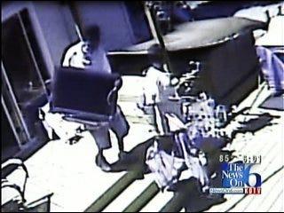 Tulsa Burglary Caught On Tape While Teens Home Alone