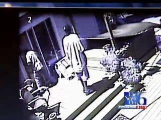 WEB EXTRA: Surveillance Video Of The Burglary