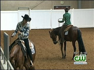 Horses, Trainers Keep It Cool At Tulsa Fairgrounds Competition