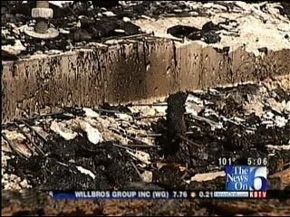 Suspicious Fire Destroys Building At Deep Fork Wildlife Refuge