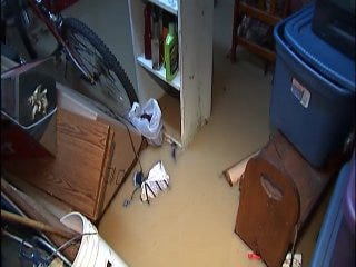 WEB EXTRA: Video of Damage Caused By Tulsa Water Line Break