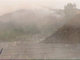 WEB EXTRA: Daytime Video Of Turley Landfill Fire