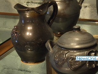 Mama Trizza's Pottery Survives by Featuring Local Artists.