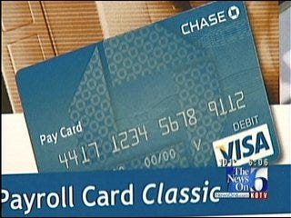 Tulsa County Offering Plastic Payroll To Employees