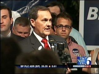 Randy Brogdon Throws Support Behind Fallin For Oklahoma Governor
