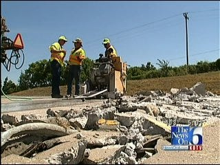 Sweltering Heat Taking A Toll On Oklahoma Roads