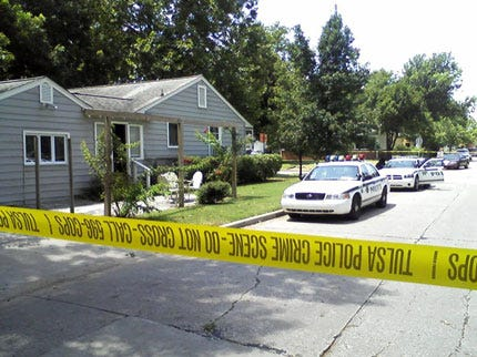 Video From Scene Of Brookside Homeowner Shooting