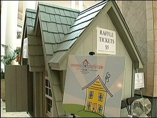 Tulsa Non-Profit Organization Selling Playhouse Raffle Tickets
